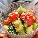 アボカドとトマトときゅうりの中華サラダ【#簡単#やみつき】