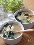 3分あればできる♡わかめとふわふわ卵の中華スープ