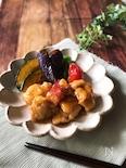 『食欲そそる…』鶏と夏野菜の南蛮炒め