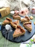 アールグレイ香るマスカルポーネチーズケーキ