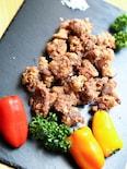 米粉で「カリッコリ」砂肝の唐揚げ