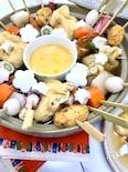 関西出汁!ゆず味噌チーズフォンデュおでん