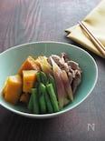 夏野菜と豚こまの煮物 ご飯によくあう野菜のおかず