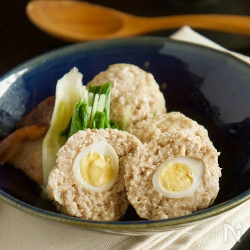 うずらの卵入り肉団子煮