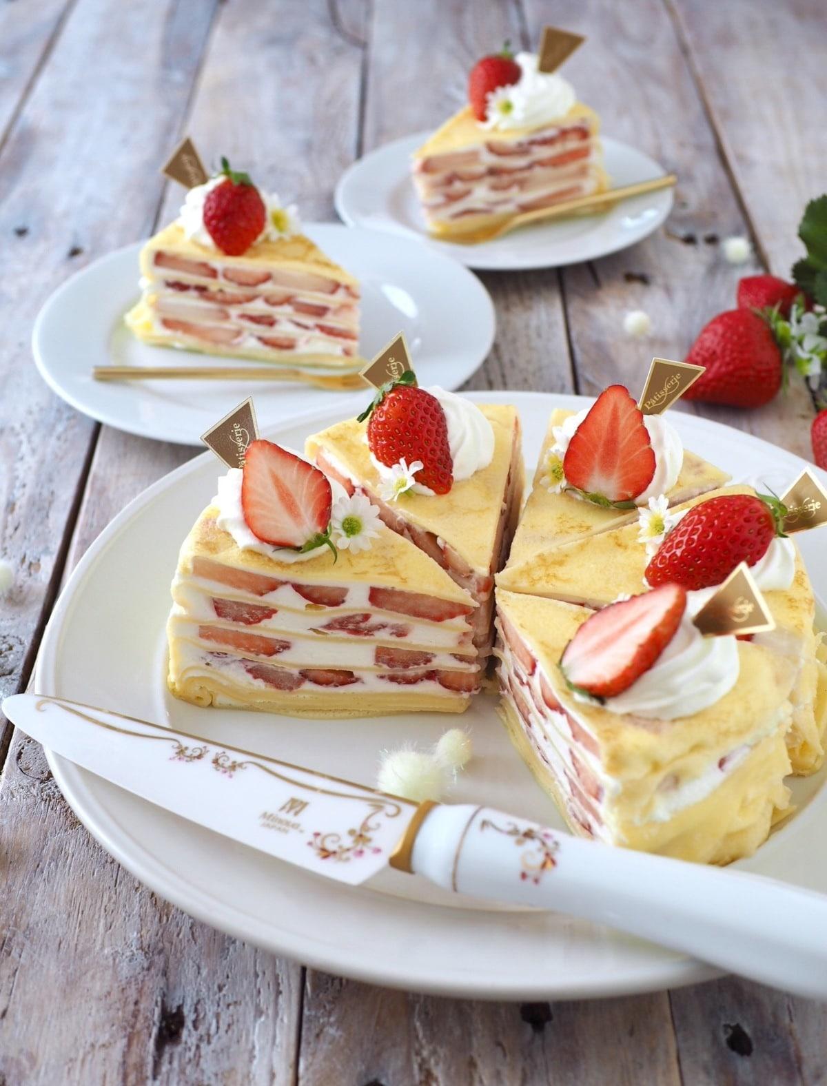 ホット クレープ ミックス 森永 ケーキ