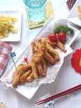 経済的で子供もよろこぶ・鶏むね肉のスティック唐揚げ