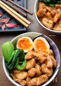 『【胸様レシピ】レンジde簡単♪魯肉飯風♪』