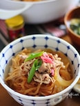 糸こん・えのきがたっぷり!ヘルシーな豚丼レシピ