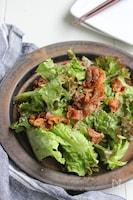 カリカリ豚バラとみょうがドレのスタミナサラダ・栄養計算付