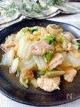 旨みたっぷり✩.*˚白菜と鶏ささ身の生姜・バター炒め