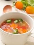 野菜たっぷり具沢山!夏のスープ