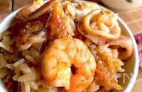 海の香りうま味ぞんぶんに♡【えびいか飯】お弁当、おにぎりにも