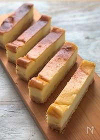 『生クリーム・バターなしのさっぱりベイクドチーズケーキ』