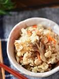 うどんスープで簡単!炊き込みご飯【冷凍作り置き】