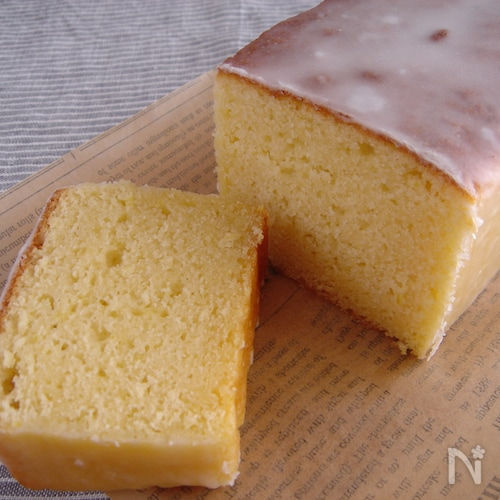 香り爽やか♪レモンケーキ。