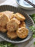 鶏むねキャベツつくねのテリマヨソース。