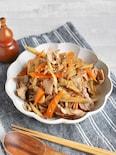 豚肉とごぼうのきんぴら炒め*美味しく腸活和食!