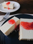 チーズ・バターなし!ヘルシーレアチーズケーキ風