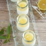 レモンヨーグルトゼリー