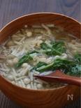大豆とえのきのトロトロ呉汁