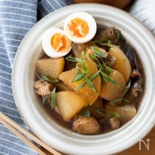 『味しみ!大根と鶏肉のオイスター煮込み』#ご飯がすすむ