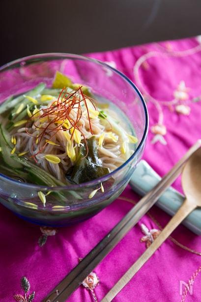 韓国冷麺と盛岡冷麺の違いとは?パパっと簡単アレンジレシピ10選もの画像