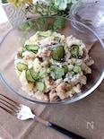 サバ缶水煮のポテトサラダ