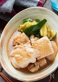 『ポン酢deさっぱり鶏チャーシュー【#作り置き#レンジ】』