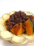 <冬至に>ゆで小豆de簡単♡かぼちゃのいとこ煮