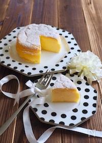『瞬溶け!ホワイトチョコチーズケーキ』