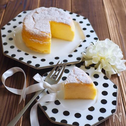瞬溶け!ホワイトチョコチーズケーキ