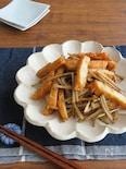 旨味たっぷり◎簡単和総菜☆さつまあげとごぼう炒め