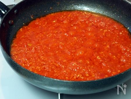 にんにく トマト ラー油 レシピ