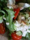 きゅうりと豆のライタ