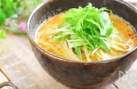 優しいのにコクうま過ぎる♡豆乳坦々麺(発酵レシピあり)