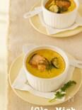 鮭とズッキーニのチーズフラン