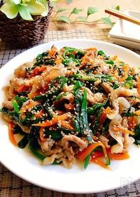 『夕飯のおかず☆豚肉のプルコギ風』