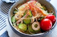 10分副菜ポン酢で簡単春雨サラダ