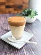 ふわふわほろ苦「ダルゴナコーヒー」#달고나커피