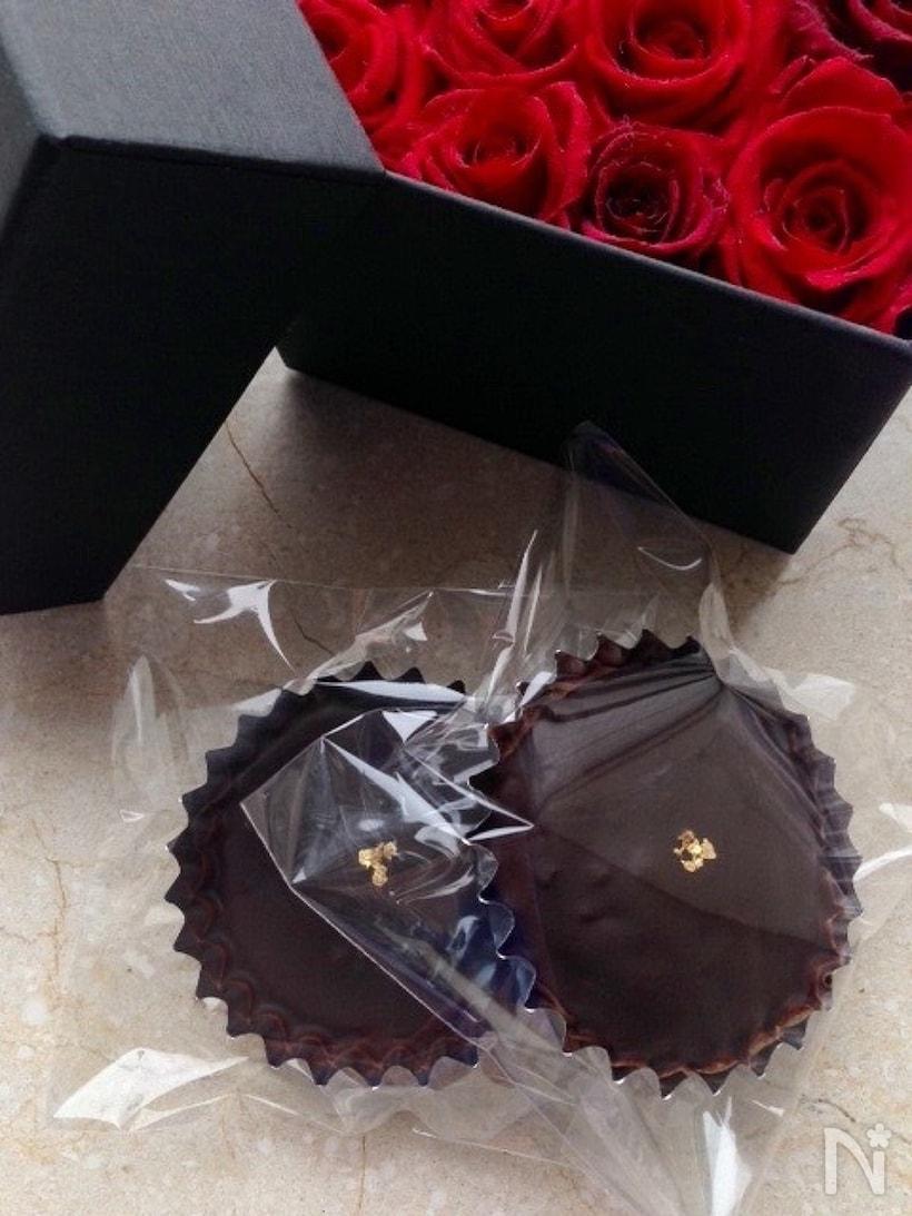 生クリームをきかせたザッハトルテ風のチョコケーキ