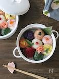 8種の彩り手毬寿司