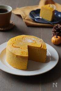 かぼちゃのチーズケーキ【かぼちゃ裏ごし不要】