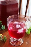 我が家の赤紫蘇ジュース