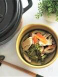 筍と蕨の田舎煮(ストウブオーブン料理)