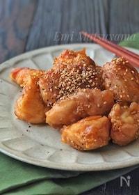 『めんつゆで簡単!*鶏肉の甘酢照り焼き*お弁当にも◎』
