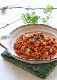 『【らくレピ】レンジで簡単!トマト缶不要!大豆のチリコンカン風』