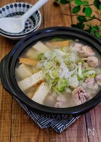 『酸っぱいスープ好きさんに!*酸っぱうま鶏鍋*』