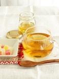 東方美人茶で作るアレンジティー 蜂蜜ジンジャーティー