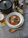 トマトの味噌ラタトゥイユ(ストウブ料理)