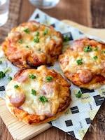 発酵なしで超簡単!ホットケーキミックスdeピザ